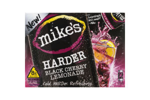 Mike's Harder Lemonade Black Cherry Lemonade Flavor - 12 CT
