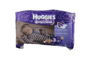 Huggies OverNites Diapers Disney 3 - 16-28 LB