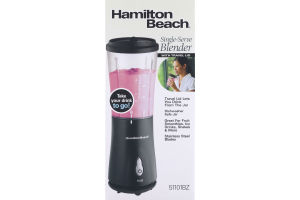 Hamilton Beach Single-Serve Blender with Travel Lid