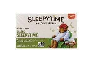 Celestial Seasonings Sleepytime Herbal Tea - 20 CT