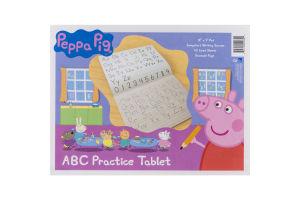 "Peppa Pig ABC Practice Tablet 12"" x 9"""