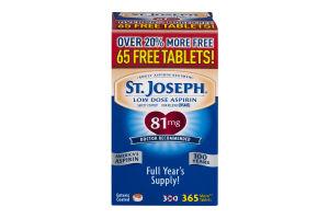 St. Joseph Low Dose Aspirin - 365 CT