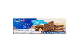 Bahlsen First Class Crispy Wafers with Hazelnut Praline Milk Chocolate