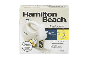 Hamilton Beach Hand Mixer with Snap-On Case