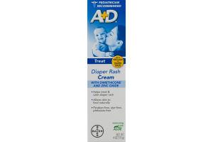 A+D Diaper Rash Cream with Aloe