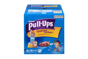 Huggies Pull-Ups Training Pants Learning Designs Disney 4T-5T - 56 CT