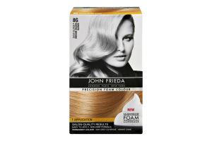 John Frieda Precision Foam Colour Sheer Blonde 8G Medium Golden Blonde Permanent Colour