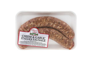 Bianco & Sons Italian Sausage Cheese & Garlic - 2 CT