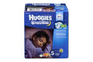 Huggies OverNites Diapers Disney Size 5 - 52 CT