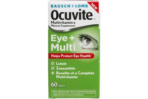 Ocuvite Multivitamin & Mineral Suplement Eye+Multi - 60 CT