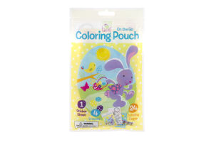 On The Go Coloring Pouch Spring Into Easter