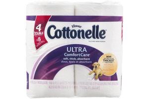 Kleenex Cottonelle Ultra Comfort Care Toilet Paper - 4 CT