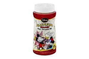 Disney Calcium Gummies Plus Vitamin D3 Dietary Supplement - 60 CT
