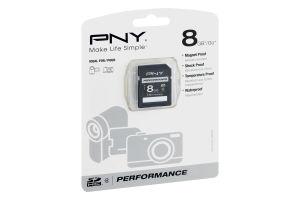 PNY SD Card 8 GB