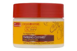 Creme Of Nature Argan Oil Twirling Custard Curl Styling Gel