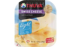Tnuva Light Sliced Cheese Swiss