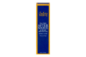 Shea Moisture Shave Tea Tree After Shave & Bump Preventer Herbal Elixir Prevent & Heal