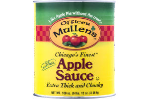 Officer Mullen's Chicago's Finest Apple Sauce
