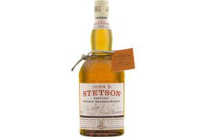 John B. Stetson Kentucy Straight Bourbon Whiskey
