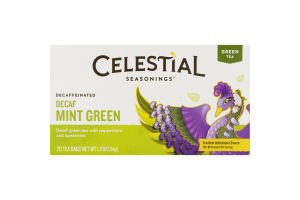 Celestial Tea Decaf Mint Green - 20 CT