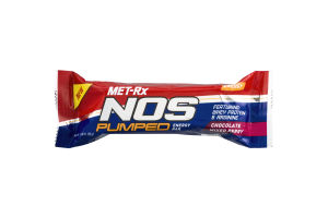 MET-Rx NOS Pumped Energy Bar Chocolate Mixed Berry