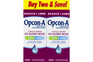 Opcon-A Eye Allergy Relief - 2 CT