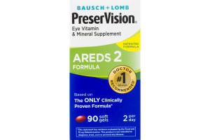 PreserVision Eye Vitamin & Mineral Supplement AREDS 2 Formula - 90 CT