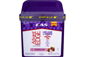 EAS Advant Edge Protein Powder Strawberry Cream