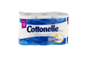 Cottonelle Toilet Paper Clean Care - 6 CT