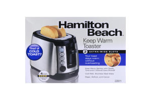 Hamilton Beach Keep Warm Toaster