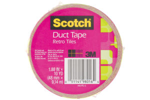 Scotch Duct Tape Retro Tiles