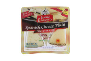 Garcia Baquero Spanish Cheese Plate - 12 CT