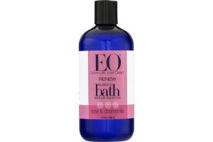 EO Renew Bubble Bath Rose & Chamomile