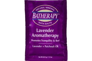 Batherapy Bath Salts Lavender Aromatherapy