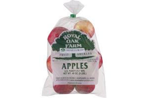 Royal Oak Farm Apples Honeycrisp