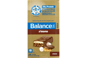 Balance Bar Gold Nutrition Energy Bar S'Mores - 15 CT