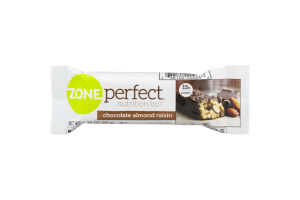 Zone Perfect Nutrition Bar Chocolate Almond Raisin