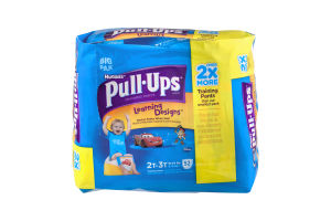 Huggies Pull-Ups Training Pants Learning Designs 2T-3T - 52 CT