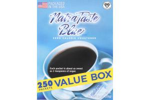 NatraTaste Blue Zero Calorie Sweetener - 250 CT
