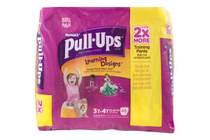 Huggies Pull-Ups Learning Designs Training Pants Disney 3T-4T - 46 CT