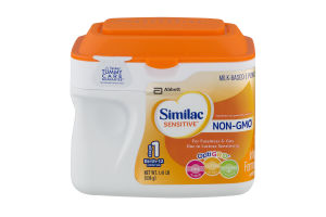 Similac Sensitive Infant Formula With Iron Stage 1 Birth-12 Months