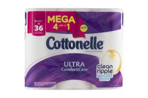 Cottonelle Ultra ComfortCare Toilet Paper Mega Rolls - 9 CT