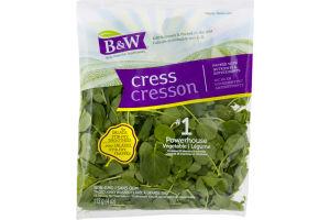 B&W Cress