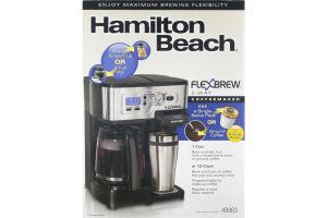 Hamilton Beach Flex Brew 2-Way Coffee Maker