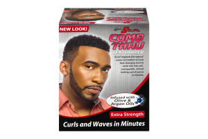 Luster's S Curl Comb Thru Texturizer Extra Strength Infused With Olive & Argan Oils