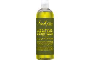 Shea Moisture Bubble Bath & Body Wash Olive & Green Tea