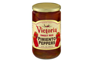 Victoria Sweet Red Pimiento Peppers