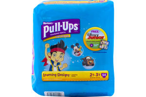 Huggies Pull-Ups Learning Designs Training Pants 2T-3T - 54 CT