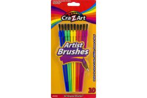 Cra-Z-Art Artist Brushes - 10 CT