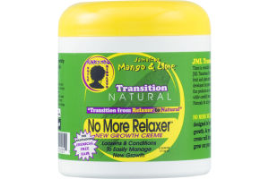 Transition Natural No More Relaxer New Growth Creme Jamaican Mango & Lime